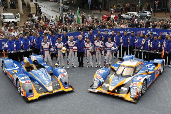 24 HEURES DU MANS 2011 - pessahe Team ORECA - photo Thierry COULIBALY