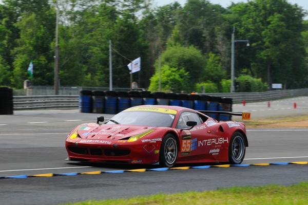 Le Mans 2013 Ferrari 55 Chicane Michelin Patrick Martinoli