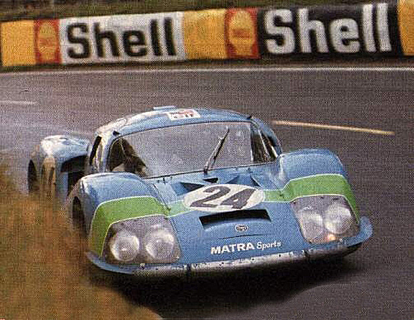 MATRA-24-HEURES-DU-MANS-1968-HENRI-PESCAROLO-JOHNNY-SERVOZ-GAVIN-Photo Collection Famille CHASSAGNY