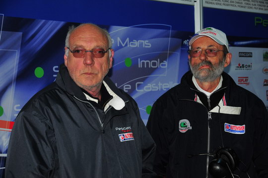 Henri PESCAROLO et son fidéle ingénieur Claude GALLOPIN - Photo Gilles VITRY - autonewsinfo