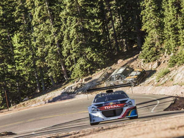 PIKES PEAK 2013 QUALIFICATION LA PEUGEOT 208 PP T16