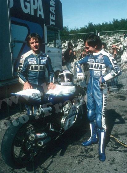 Patrick PONS et Christian SARRON en 1979