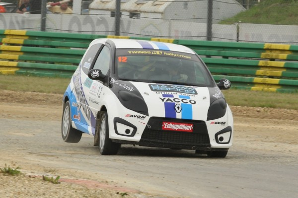 RALLYCROSS 2013 CHATEAUROUX ANDREA DUBOURG photo DA Racing