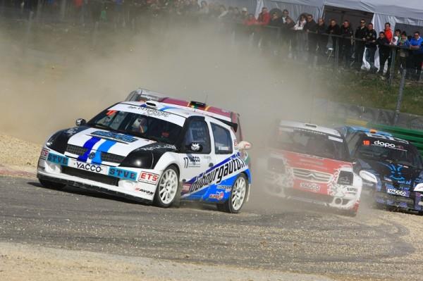 RALLYCROSS-2013-CHATEAUROUX-Super-1600-Jean-Baptiste-Dubourg-première-victoire-en-Rallycross-pour-le-pilote-de-Libourne-Photo-Charles-GOUACHE-AFOR