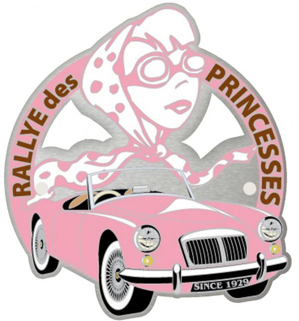 RALLYE DES PRINCESSES 2013  Logo Calandre PRINCESSES