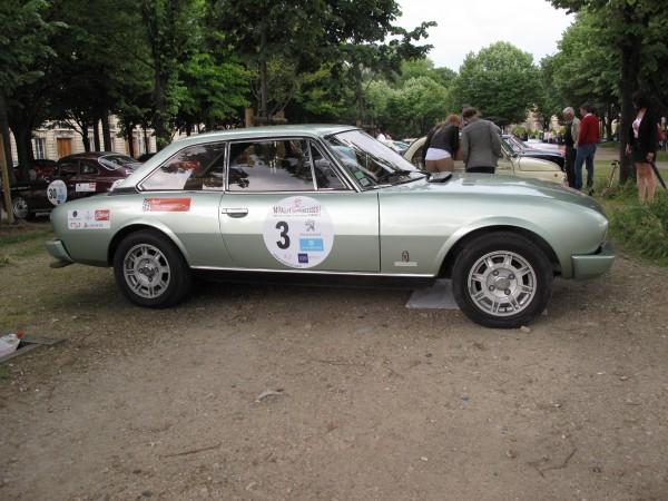 RALLYE DES PRINCESSES 2013 Peugeot Coupé 504 1969