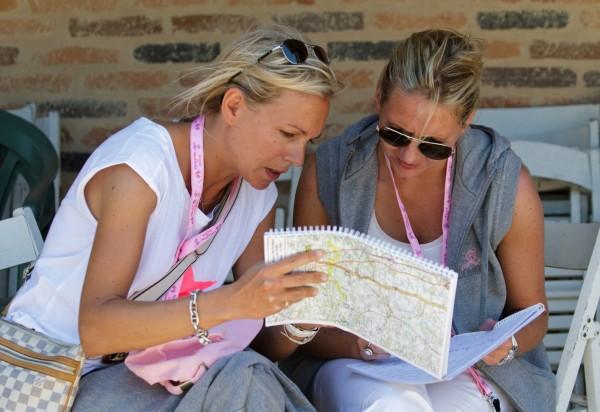 RALLYE DES PRINCESSES 2013 -Road book etude du parcours