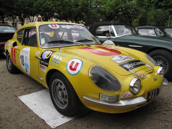RALLYE DES PRINCESSES 2013 Une magnifique CG 1100CC 1973 - LA DERNIERE CG.
