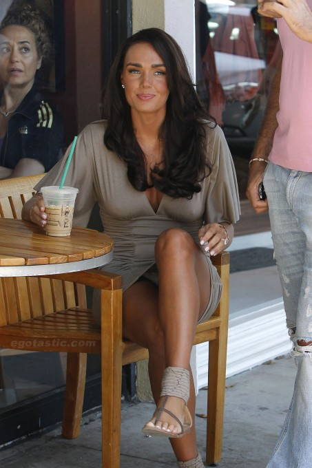 Tamara Ecclestone Drinking Coffee
