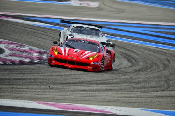 VDEV 2013 PAUL RICARD ENDURANCE GT TOURISME FERRARI F458 PAGNIER PERRIER BOUVET Photo MAX MALKA
