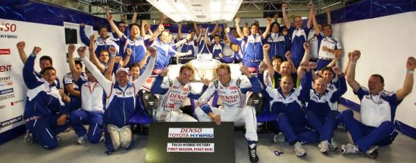 WEC-Le-Team-TOYOTA-fête-sa-brillante-saison-2012 avec 3 victoires