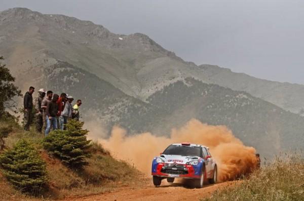 En WRC- Au RALLYE ACROPOLE 2013 -ROBERT-KUBICA-DS3 Photo Jo LILLINI