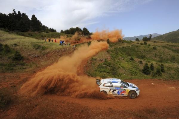 WRC 2013 ACROPOLE Samedi VW LATVALA EN ACTION