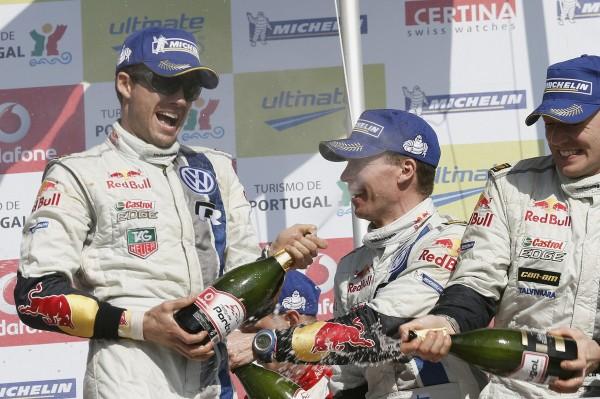 WRC 2013 PORTUGAL Podium Ogier-Ingrassia photo Jo LILLINI