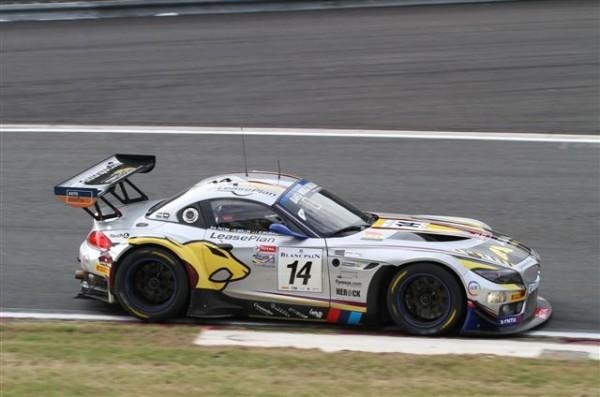 24-HEURES-DE-SPA-2013-ESSAIS-libres-La-BMW-Z4-Marc-VDS-de-Piccini-Klingmann-Müller-huitièmes-©-Manfred-GIET