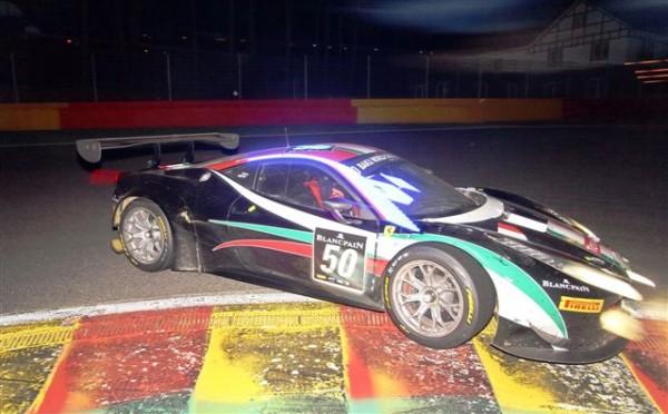24 HEURES DE SPA 2013-Ferrari AF Corse de Hommerson-Machiels-Bertolini-Cioci-© Manfred GIET