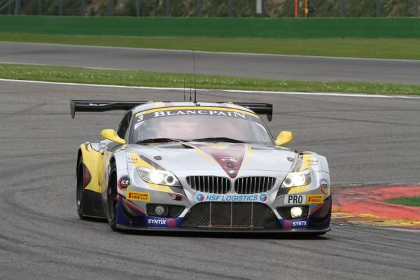 24 HEURES DE SPA 2013 - La BMW Z4 Marc VDS de MARTIN-LEINDERS-BUURMAN- autre voiture favorite pour la victoire-© Manfred GIET.
