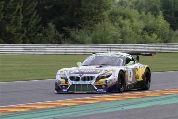 24-HEURES-DE-SPA-2013-La-BMW-ZU-VDS-pilotée-par-Nicky-CATSBURG-en-deuxième-ligne-©-Manfred-GIET