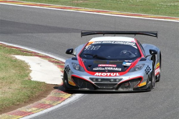 24 HEURES DE SPA 2013-Mc Laren MP4-12C de Parente-Dusseldorp-Sims-© Manfred GIET