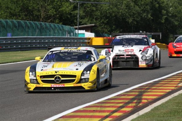 24 HEURES DE SPA 2013-Mercedes Black Falcon de Simonsen-© Manfred GIET