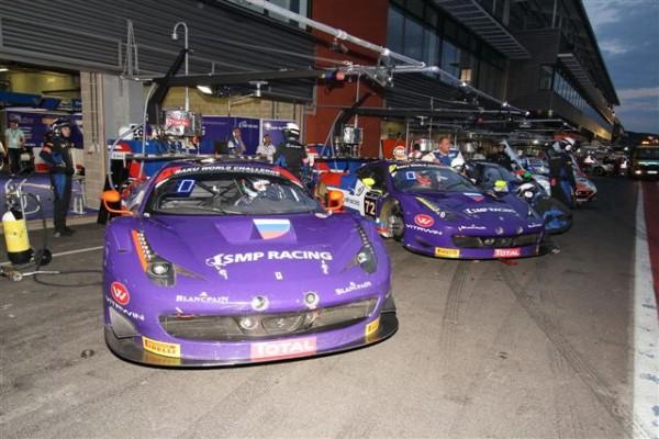 24-HEURES-DE-SPA-2013-essais-chronos-jeudi-soir-Des-étonnantes-Ferrari-SMP-©-Manfred-GIET