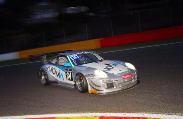 24-HEURES-DE-SPA-2013-essais-chronos-jeudi-soir-La-Porsche-Almeras-au-20ème-rang-©-Manfred-GIET