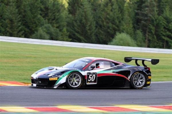 24-HEURES-DE-SPA-2013-essais-chronos-jeudi-soir-encore-une-Ferrari-AF-Corse-à-la-9ème-place-©-Manfred-GIET