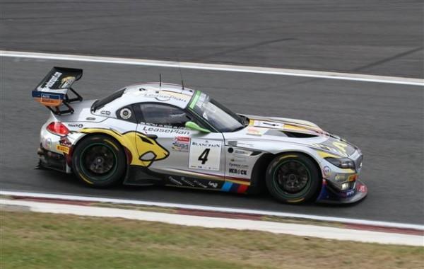 24-HEURES-DE-SPA-2013-essais-libres-Jeudi-25-juillet-A-la-surprise-générale-la-Z4-de-Catsburg-Moser-Palttala-se-montrr-la-plus-véloce-des-3-BMW-photo-Manfred-GIET