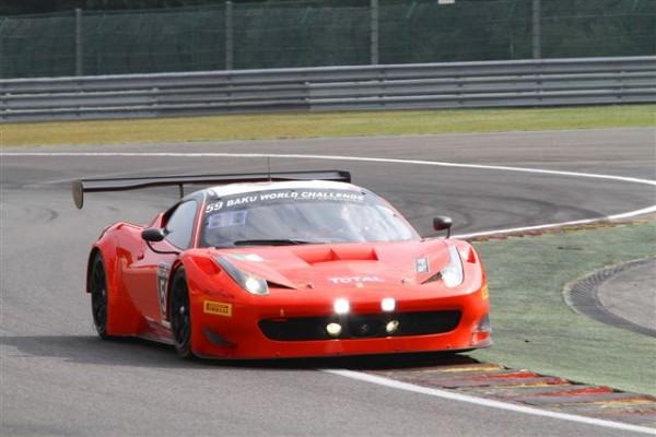 24-HEURES-DE-SPA-2013-essais-libres-Jeudi-25-juillet-Ferrari-458-Italia-AF-CORSE-de-Cameron-Griffin-Mortimer-Vilander-10èmes-photo-Manfred-GIET