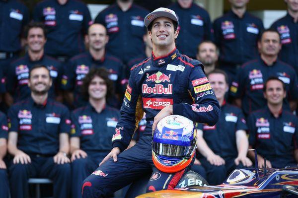 DANIEL-RICCIARDO- PILOTE de la filiere Red Bull - portrait-2013