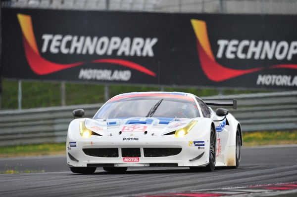 ELMS 2013 RED BULL RING - FERRARI F458 Italie Team RAM MOWLEN -GRIFFIN - photo VISION SPORT AGENCY pour autonewsinfo