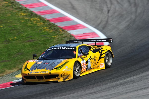 ELMS 2013 RED BULL RING - FERRARI F458 Team JMW Andrea BERTOLINI - photo VISION SPORT Agency pour autonewsinfo
