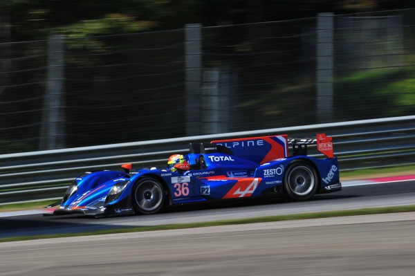 ELMS 2013- RED BULL RING - Team ALPINE SIGNATECH- Nelson PANCIATICI - PierreRAGUES - photo VISION SPORT Agency.