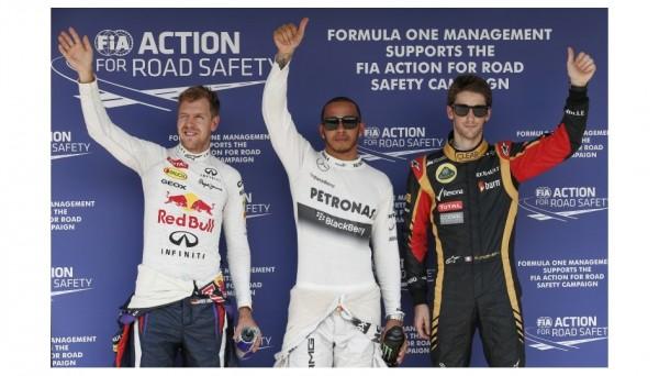 F1-2013-BUDAPEST-LES-3-PREMIERS-DES-ESSAIS-CHRONOS-HAMILTON-1er-devant-VETTEL-et-Romain-GROSJEAN