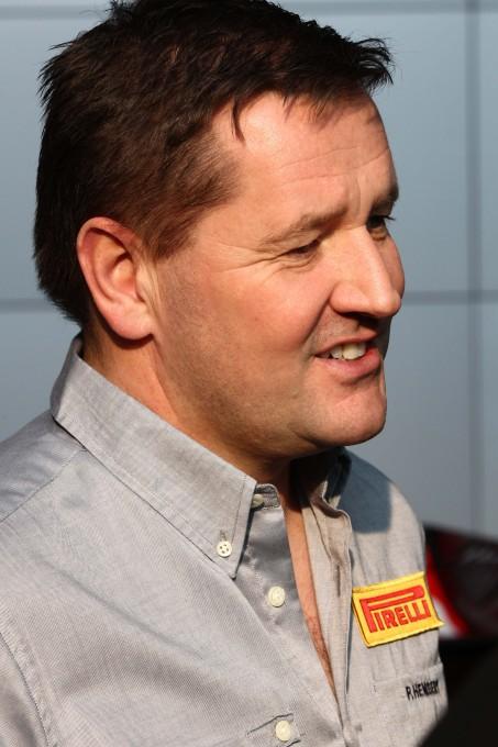 F1 2013  PIRELLI Paul Hembery portrait