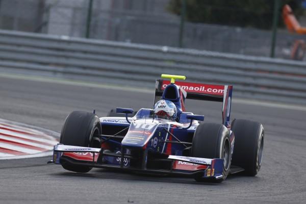 GP2 2013 BUDAPEST Jolyon PALMER 1er de la Course 1