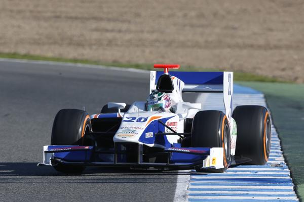 GP2 2013 Nathanael Berthon Team TRIDENT.