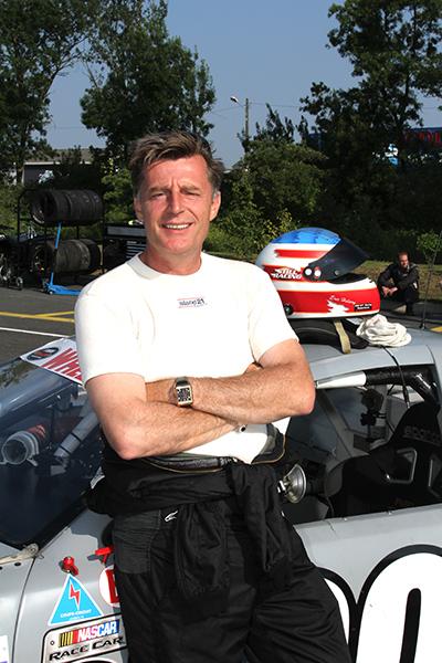 Stéphane SABATES pilote et co- propriétaire du team Photo Gilles VITRY autonewsinfo