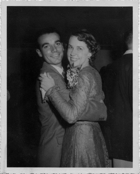 Joan & Bernard CAHIER Long-Beach 1949