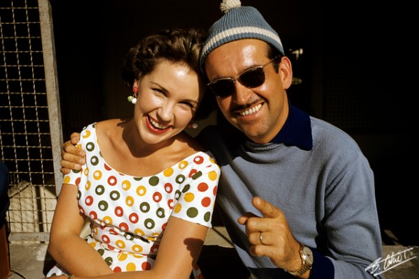 Joanie CAHIER et Maurice TRINTIGAN 1953