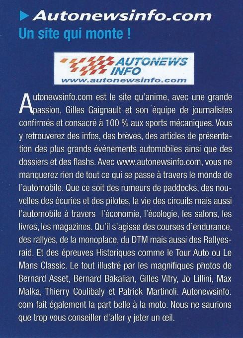 LE MANS RACING sujet Autonewsinfo