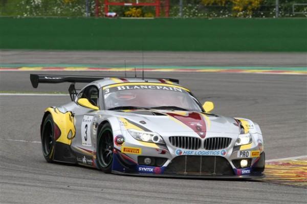 24 HEURES DE SPA 2013 - La-BMW-Z4-du-Team-Marc-VDS-grande-favorite-©-Manfred-GIET