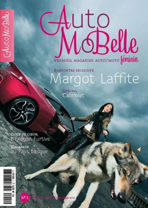 MAGAZINE AUTOMOBELLES Couverture N°1 JUILLET 2013