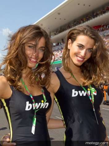MOTO GP 2013 GRID GIRLS AWW