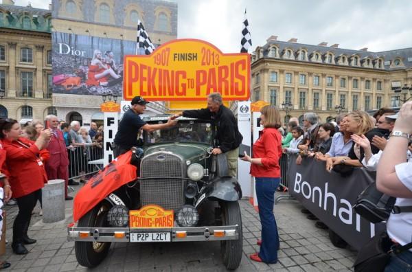 PEKIN-PARIS-2013-L-Australien-ROD-WADEN-FORD-Modele-A-de-1930