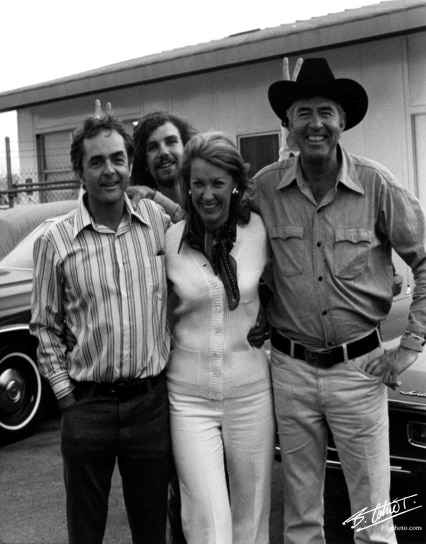 Phill HILL, Paul-Henri CAHIER, Joanie, Carroll SHELBY 1972