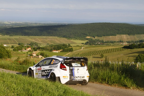 RALLYE FRANCE 2013 VINS DE MACON FORD JULIEN MAURIN Photo FFSA DPPI