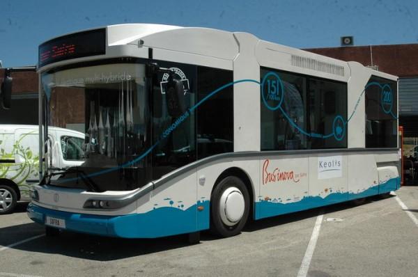 RIVE 2013 - Une idée des autobus du futur à propulsion électrique - Photo Patrick Martinoli
