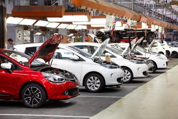 USINE DE FLINS Renault Clio IV et Renault ZOE