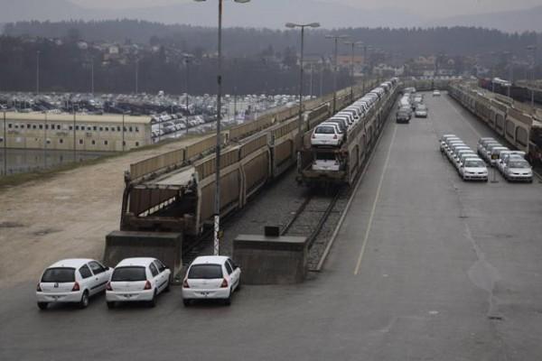 Usine Renault de Revoz en Slovénie Stock pour l'occident...